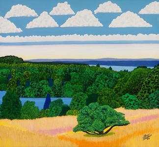 Olana Pond Hudson River