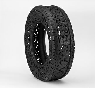Untitled (car tire)