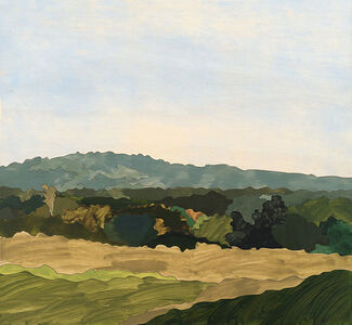 Painting 163 (Moonee Beach)