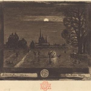 Le Couvre-Feu (The Curfew) [recto]