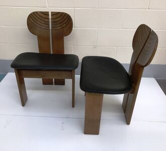 Two Africa Chairs