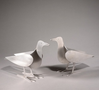 Bougeoirs Pigeons