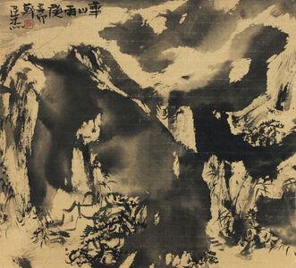 Ancient Mountain After Rain-Mt Hua Series