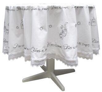 Embroidered Tablecloth [Mantel de mesa bordado]
