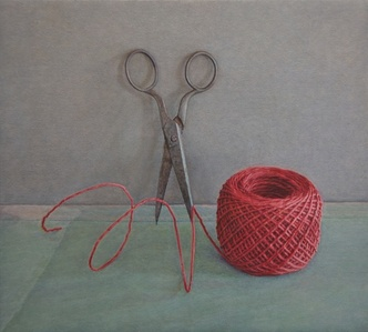 Scissors and Red String