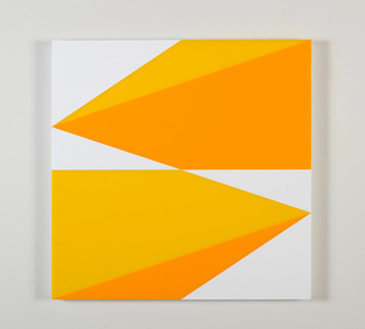 Composition in 2465 Yellow, 2016 Yellow and 3015 White