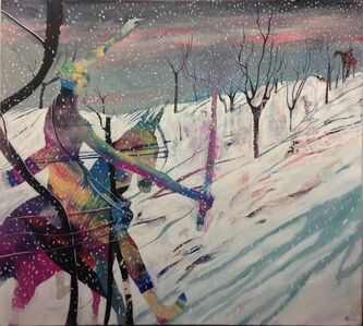 'Rider In The Snow'
