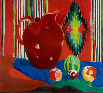 The Red Pitcher