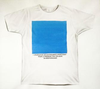 T-shirt (cuadrado azul)