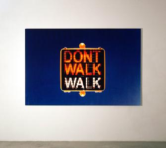 Don't walk, walk