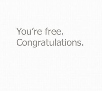 You're Free