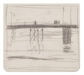 Crossing the Bridge, Paris Plage