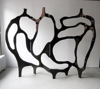 Meander Sculpture Screen