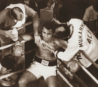 Muhammad Ali in the Corner