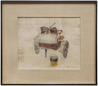 Old Fire Wagon, Monotype