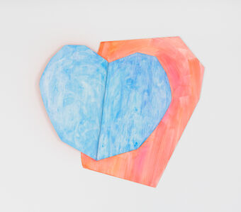 Light heart (blue)