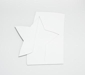 Rising star (white)
