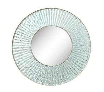 Large-Scale, Studio-Built Circular Mirror