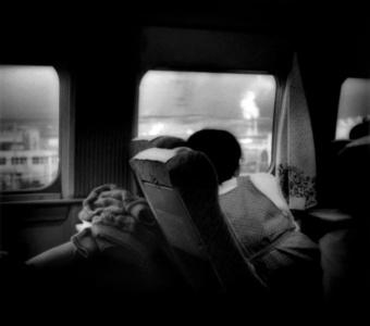 Gazing out from Shinkansen Bullet Train, Shizuoka Prefecture, Japan