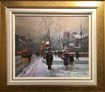 Snow Scene, Paris