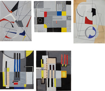 Five Works: Untitled
