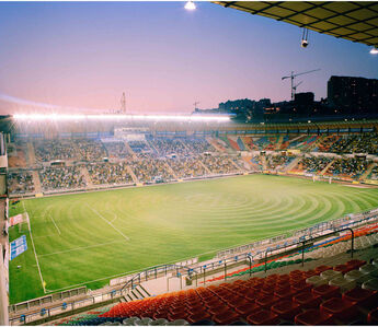 Championship Football Match, 2 hours exposure Jerusalem Israel 2008