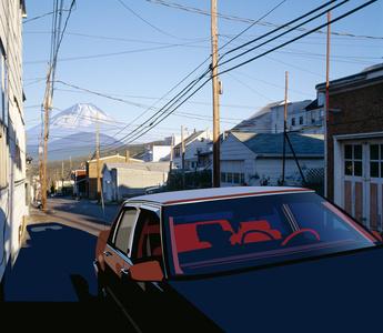 Paysage 194 (Mont Fuji, Schuykill county)