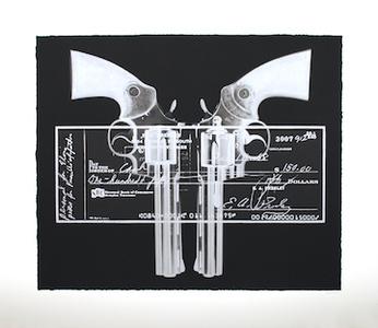 Elvis Gun... Cheque - Silver