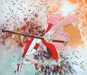 Frederico (mit Geige)