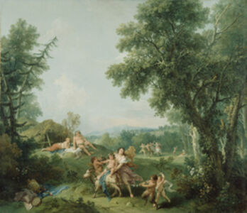 Landscape with the Education of Bacchus