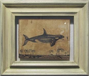 Orca marina cavalluccio e chiave