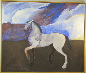 Dream Horse with Clouds
