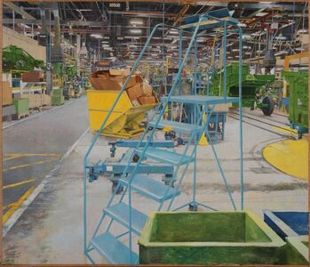 JOHN DEERE HARVESTER WORKS, EAST MOLINE IL