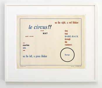 Poster Poem (Le Circus)