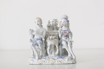 Meissen Couture chris antemann fruit pyramid ii courtesy meissen couture