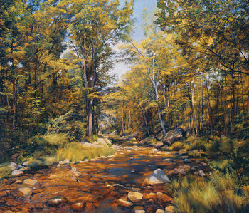 The Pleasant River, Maine