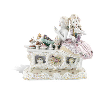 Sweetmeats and Underpinnings [Courtesy MEISSEN COUTURE® Art Collection.]