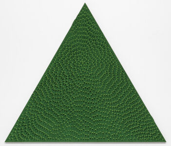 The Priestess (Green and Light Green MT, Green Sand SF #1T, Green Ground)