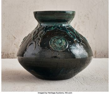 Chambered Nautilus Vase
