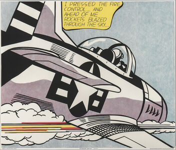 WHAAM! /A Diptych Poster