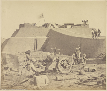 Headquarter Staff, Pehtung Fort, August 1st, 1860