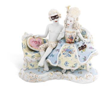 Masquerade [Courtesy MEISSEN COUTURE® Art Collection.]