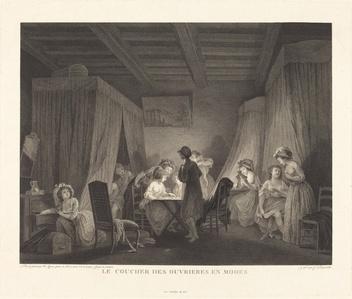 Le coucher des ouvrieres en modes