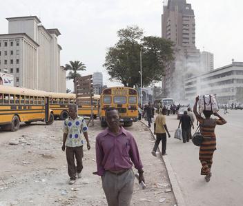 Boulevard 30 Juin, Kinshasa, Congo