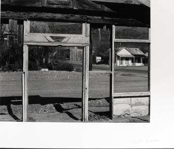 Scene Framed by Building Under Construction