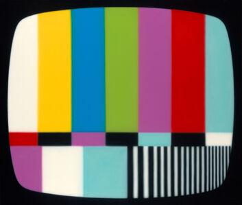 Warhol's test pattern no.2, as seen on TV