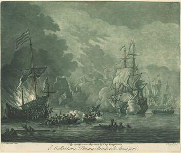 Fight against Seven Algerines