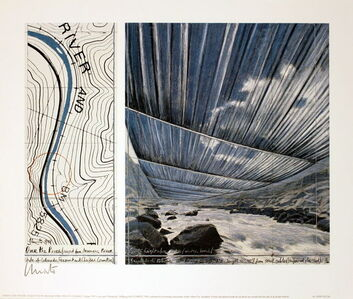 Over the Arkansas River (signed)