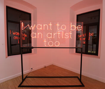 I want to be an artist too