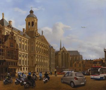 Traffic in 17th Century Amsterdam